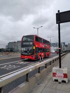 Route 35 crossing the River Thames