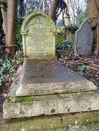 Grave of Charles Henry Lovell in Highgate Cemetery (west)
