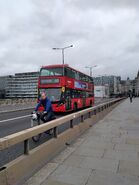 Route 43 crossing the River Thames