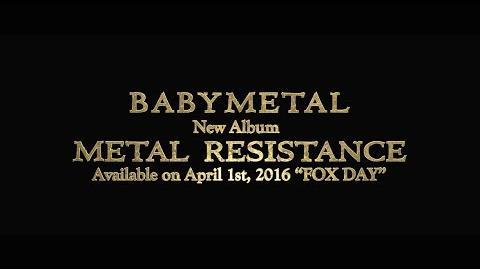 BABYMETAL - New Album 「METAL RESISTANCE」 Trailer