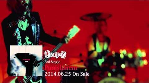 RevleZ 3rd single「Punishment」PV SPOT