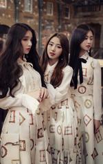 3H HaSeul debut photo