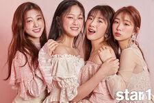 Star1 YeoJin HaSeul HyunJin Choerry
