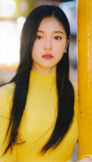 HyunJin Up & Line Photocard Scan by loonascans