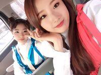 170305 SNS HaSeul YeoJin