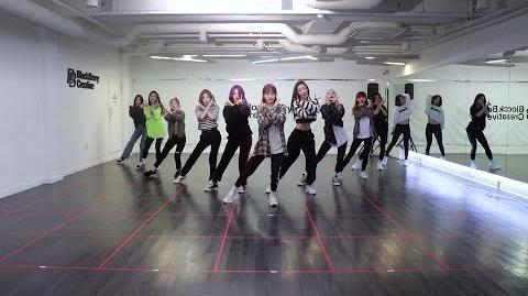 """이달의_소녀_(LOONA)_""""위성(Satellite)""""_Dance_Practice_Video"""