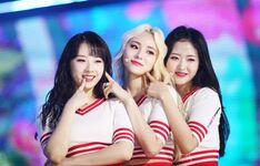 180918 THE SHOW Stage Hi High HaSeul Kim Lip Olivia Hye