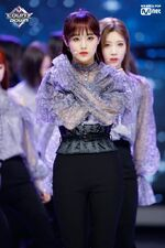 190228 Mcountdown Stage Butterfly Chuu
