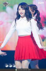 181004 Mcountdown Naver Hi High HaSeul