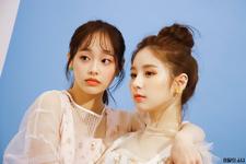 The Star Magazine (HeeJin, Chuu) BTS 5