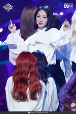 190221 Mcountdown Naver Butterfly HaSeul 4