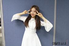 170507 SNS Inkigayo Diary HaSeul 1