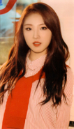 HaSeul Up & Line Photocard Scan by loonascans