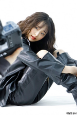 Chuu Marie Claire BTS 3