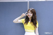 181001 SNS Hi High Diary HaSeul 1