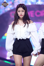 170921 ODD EYE CIRCLE Mcountdown Stage Girl Front Choerry