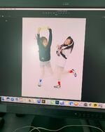 ELLE Korea BTS (HyunJin, Chuu) 1