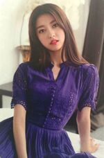 Choerry single photocard 2