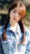 YeoJin Up & Line Photocard Scan by loonascans
