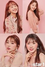 Star1 YeoJin HaSeul Chuu Yves