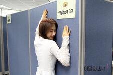 170507 SNS Inkigayo Diary HaSeul 2