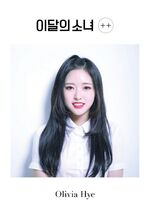 ++ Promotional Picture Olivia Hye