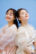 The Star Magazine (HeeJin, Chuu) BTS 4