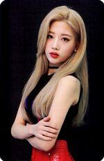 Kim Lip single Photocard 2