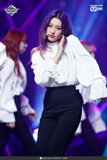 190221 Mcountdown Naver Butterfly Choerry 3