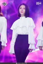 190221 Mcountdown Naver Butterfly HaSeul 2