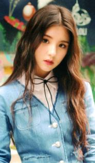HeeJin Up & Line Photocard Scan by loonascans