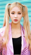 JinSoul Up & Line Photocard Scan by loonascans