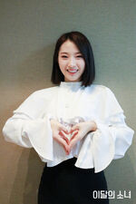 190401 SNS Butterfly Diary HaSeul 2