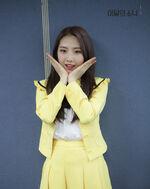170402 SNS Inkigayo Diary HaSeul 2
