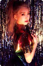 Kim Lip single Photocard 1