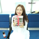 170430 SNS Inkigayo Diary HaSeul 1
