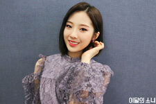 190403 SNS Butterfly Diary 2 HaSeul 1