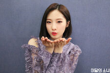 190403 SNS Butterfly Diary 2 HaSeul 2