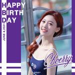 210604 SNS Choerry Birthday