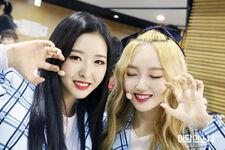 180713 SNS love4eva Diary Go Won Olivia Hye