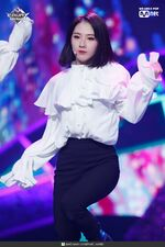 190221 Mcountdown Naver Butterfly HaSeul 6