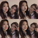 210313 SNS Choerry, Olivia Hye 2