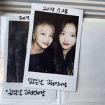 210226 SNS Go Won, Olivia Hye 2