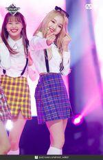 180614 yyxy Mcountdown Naver love4eva Go Won 2
