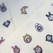 Line & Up Stickers HeeJin