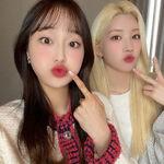 210413 SNS Kim Lip, Chuu