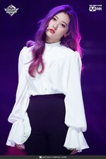 190221 Mcountdown Naver Butterfly Choerry 2