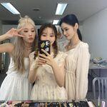 210914 SNS Kim Lip, JinSoul, Go Won 2