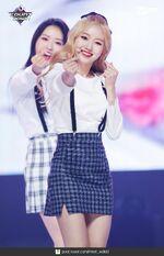 180621 yyxy Mcountdown Naver love4eva Go Won 1