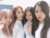 210313 SNS ViVi, HaSeul, HeeJin, HyunJin